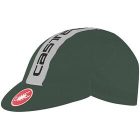 Castelli Retro 3 Cap forest gray